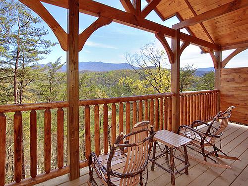 Pigeon forge cabin heavenly summit 2 bedroom sleeps 8 for Heavenly cabin rentals
